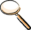 Clipart Of Magnify Glass Image