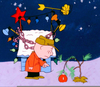 Charlie Brown Christmas Clipart Image