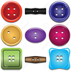 Free Clipart Sewing Buttons Image