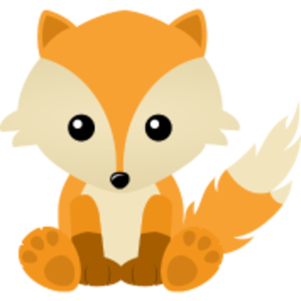 cartoon clipart of a fox - photo #37