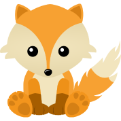 Kawaii Cute Fox Cub Cartoon | Free Images at Clker.com ...