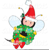 Bee And Honey Clipart Image