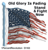 163 Old Glory Fading  Clip Art