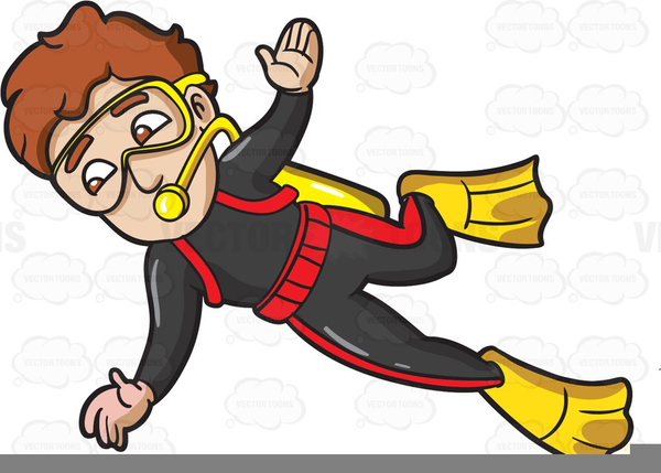 Animated Scuba Diving Clipart   Free Images at Clker.com ...