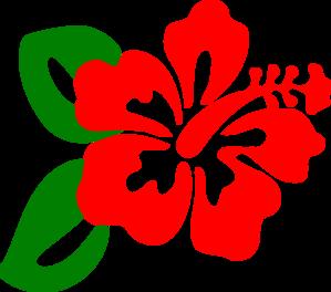 red hibiscus clip art at clker com vector clip art online royalty rh clker com hibiscus clip art free hibiscus clip art free