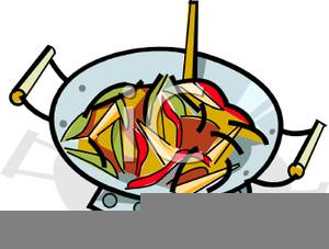 Frying Clipart Image