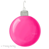 Pink Christmas Clipart Image