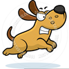 Angry Dog Clipart Free Image