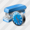 Icon Stapler Clock Image