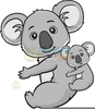Dog And Baby Clipart Image