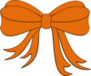 Orange Ribbon Clip Art