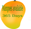 Mango Sign Board. Png Clip Art