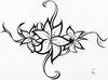 Flower Tattoo Tribal Ideas Image
