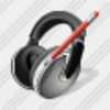 Icon Ear Phone Edit Image
