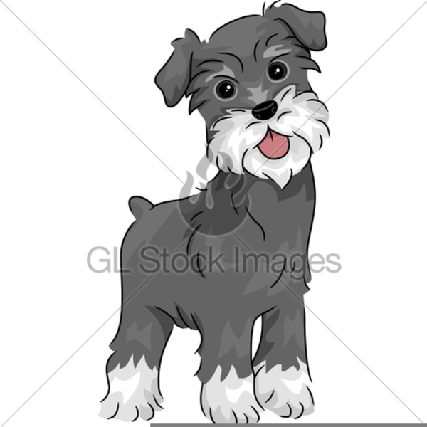 free schnauzer clipart free images at clker com vector clip art rh clker com schnauzer clips schnauzer clip art free