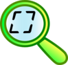 Magnify Screen Clip Art