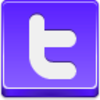 Free Violet Button Twitter Image