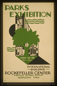 Parks Exhibition International Building, Rockefeller Center / Executed By Mayor S Poster Project. Image