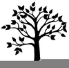 Clipart Trees Black And White Free Image
