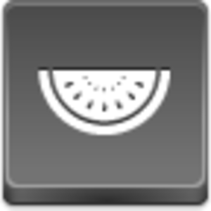 Free Grey Button Icons Watermelon Piece Image