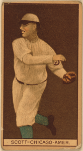 [jim Scott, Chicago White Sox, Baseball Card Portrait] Image