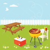 Backyard Cookout Clipart Image
