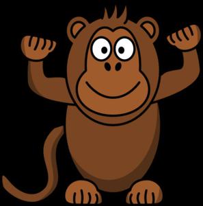 monkey clip art at clker com vector clip art online royalty free rh clker com monkey clip art for baby shower monkey clipart images