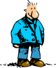 Man Standing Cartoon Clip Art