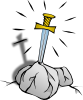 Sword In The Stone 2 Clip Art