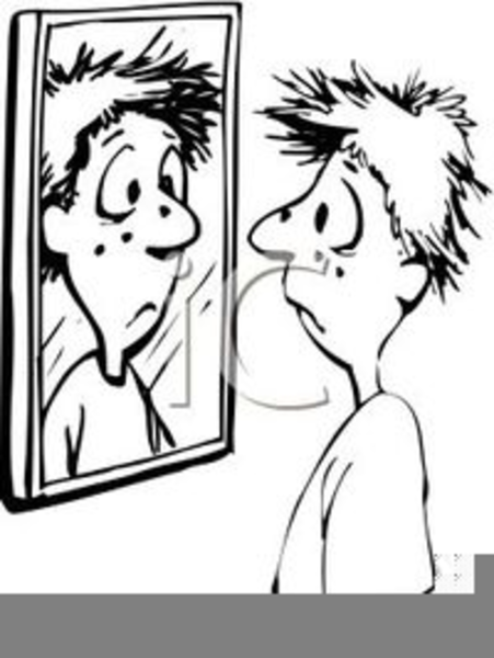 Mirror Clipart Black And White Free, Black And White Mirror Clipart