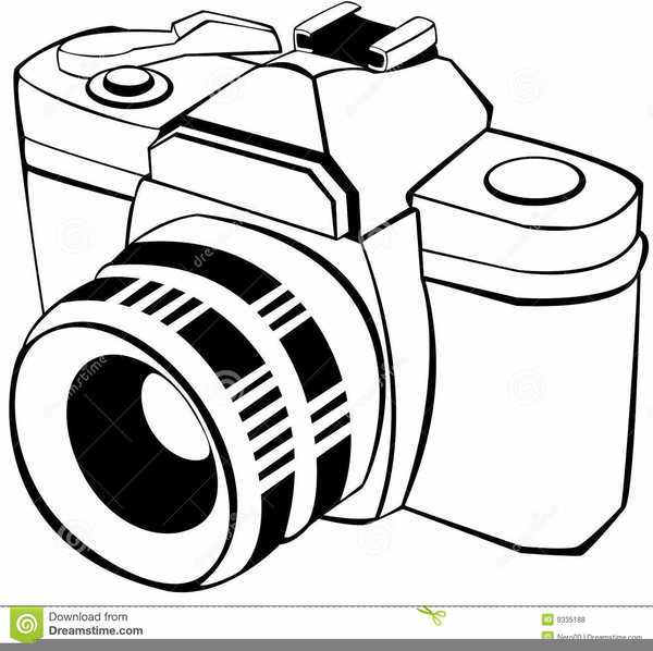 Video Camera Clipart Black And White Free Images At Clker Com Vector Clip Art Online Royalty Free Public Domain