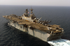 The Amphibious Assault Ship Uss Iwo Jima (lhd 7) Steams Through The Arabian Gulf Image
