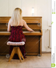 Playing The Piano Clipart Image