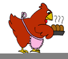 Hens Clipart Image