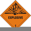 Explosive Free Clipart Image