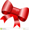 Clipart Of Christmas Bows Image