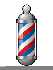 barber pole clipart free free images at clker com vector clip rh clker com  free barber shop pole clipart
