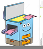Copy Machine Clipart Image
