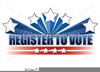 Free Vote For Me Clipart Image