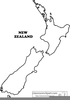 New Zealand Map Clipart Image