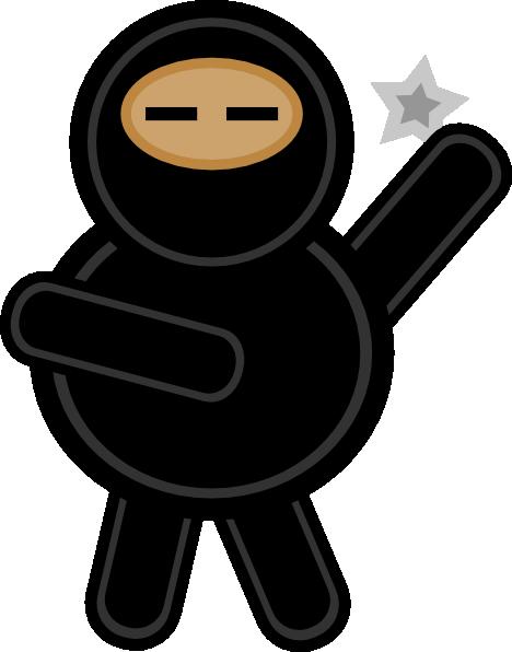 plump ninja clip art at clker com vector clip art online royalty rh clker com ninjago clip art free ninja clipart