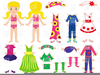 Free Barbie Doll Clipart Image