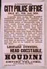Houdini Appears At The Empire Theatre, Every Evening This Week Image