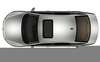 Overhead View Car Clipart Image