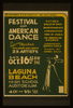 Festival Of American Dance Featuring Myra Kinch With Modern Dance Group Of 23 Artists Satires, Ballet Of 1840, Divertissements, Coronation, Song Of Judea, An American Exodus. Image