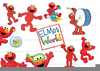 Sesame Street Party Clipart Image