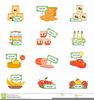 Meat Products Clipart Image