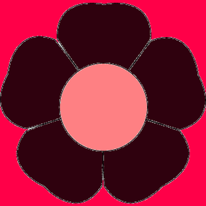 Flower With Five Petals Image