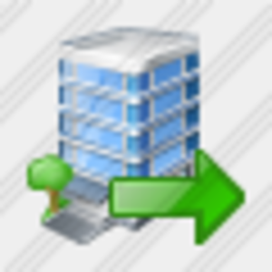 Icon Office Building Export Image