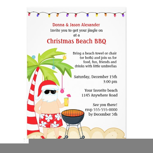 Christmas Bbq Invitations | Free Images at Clker.com ...
